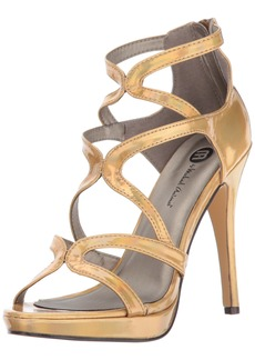 Michael Antonio Women's Riot-met Dress Sandal   M US