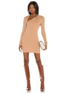 Michael Costello x REVOLVE Asymmetrical Neckline Mini Dress