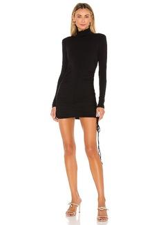 Michael Costello x REVOLVE Shirred Bodycon Mini Dress