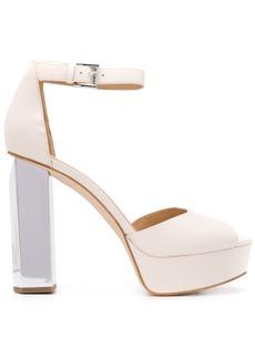Michael Kors 130mm metallic-heel sandals
