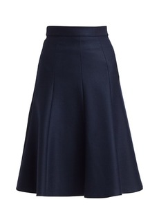 Michael Kors A-Line Midi Skirt