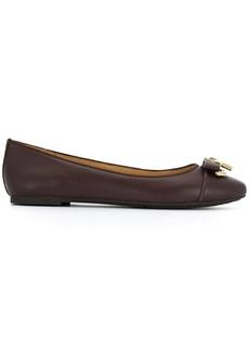 Michael Kors Alice padlock detail ballerina shoes