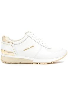 Michael Kors Allie metallic wrap sneakers