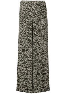 Michael Kors animal print trousers