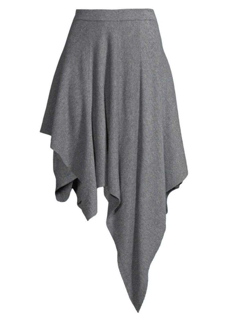 Michael Kors Asymmetric Cashmere Dance Skirt