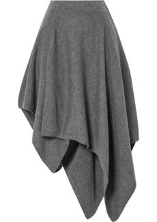 Michael Kors Asymmetric Cashmere Skirt