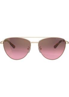 Michael Kors aviator shaped sunglasses