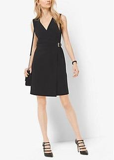 Michael Kors Belted Wrap Dress