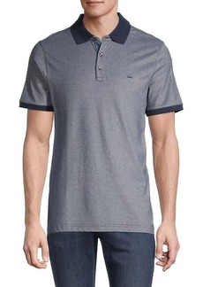 Michael Kors Bird's-Eye Print Polo