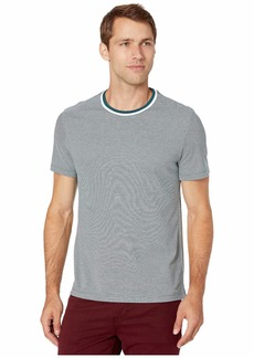 Michael Kors Birdseye Tipped Crew Shirt