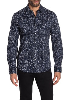 Michael Kors Brady Dot Print Slim Fit Shirt