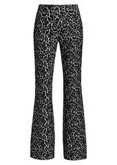 Michael Kors Brooke Bonded Lace Flare Pants