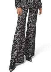 Michael Kors Brooke Bonded Lace Side-Zip Pants