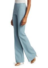 Michael Kors Brooke Double Crepe Flare Pants