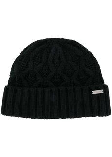 Michael Kors cable knit beanie