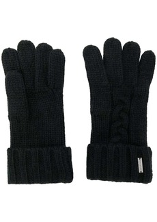 Michael Kors cable knit gloves