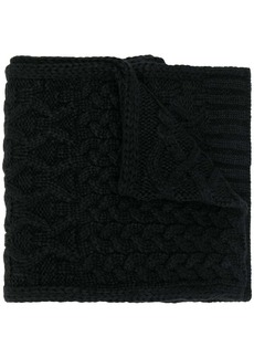 Michael Kors cable-knit scarf