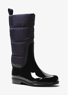 Michael Kors Cabot Quilted-Nylon Rain Boot