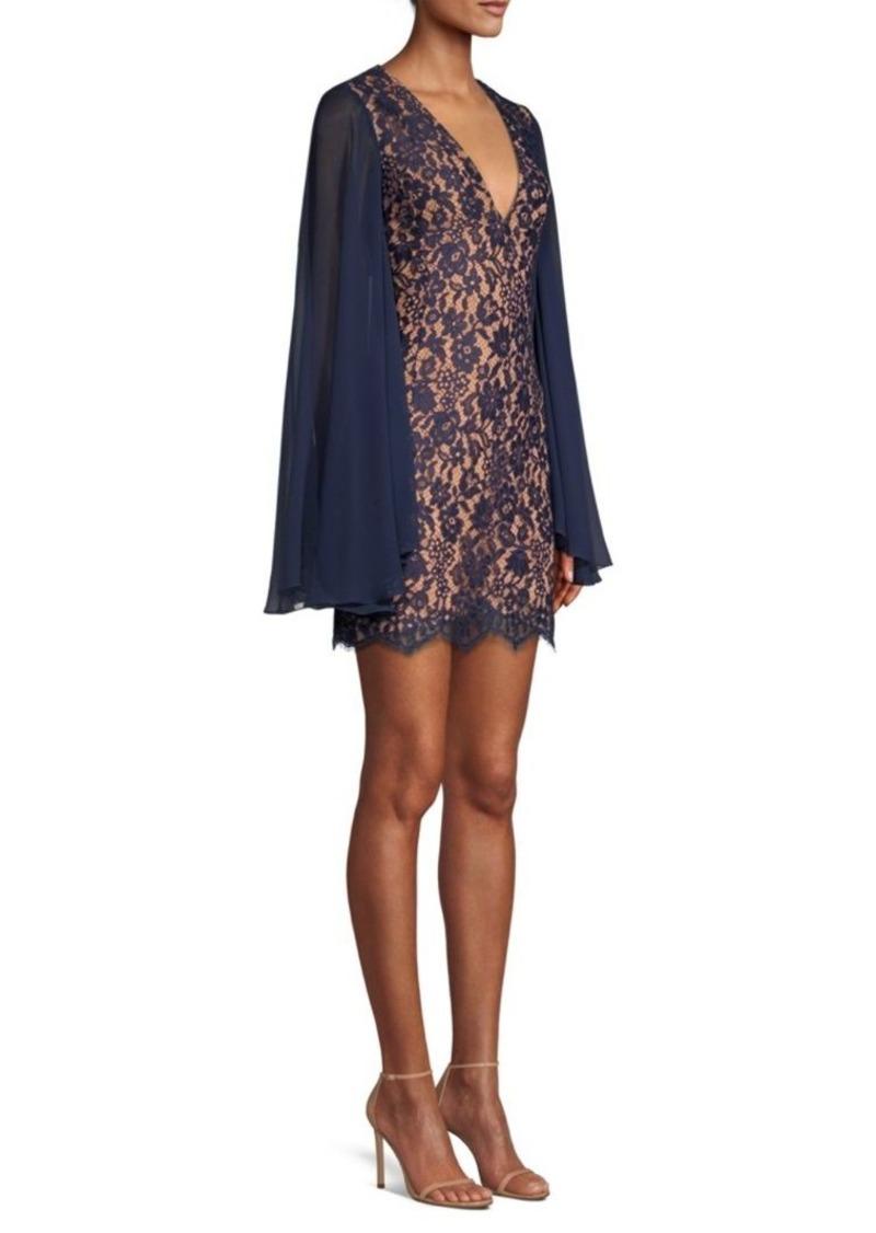 Michael Kors Cape Sleeve Shift Dress