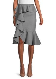 Michael Kors Cascade Ruffle Skirt