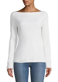 Michael Kors Cashmere Boat-Neck Sweater