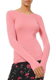 Michael Kors Cashmere Scoop-Neck Sweater