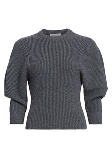 Michael Kors Cashmere Shaker Knit Pullover Sweater