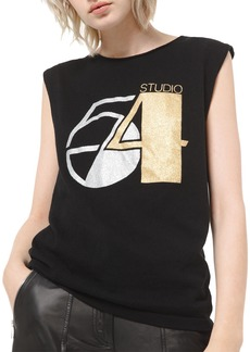 Michael Kors Cashmere Glitter Print T-Shirt