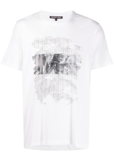 Michael Kors Typewriter graphic print T-shirt