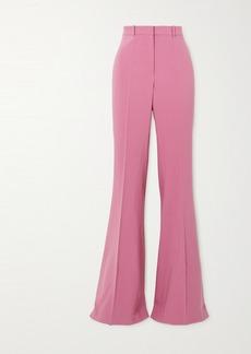 Michael Kors Charlie Wool-blend Crepe Flared Pants