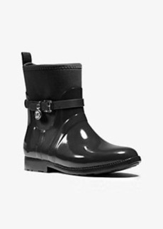 Michael Kors Charm Nylon and Rubber Ankle Rain Boot