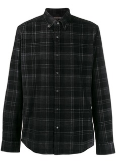 Michael Kors checked button-down shirt