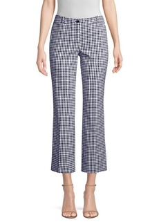 Michael Kors Checker Cropped Trousers