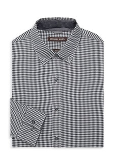 Michael Kors Checkered Dress Shirt