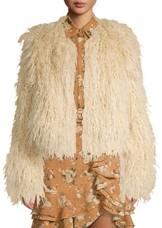 Michael Kors Chubby Faux-Fur Coat