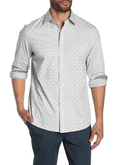 Michael Kors Classic Fit Calin Flower Print Shirt