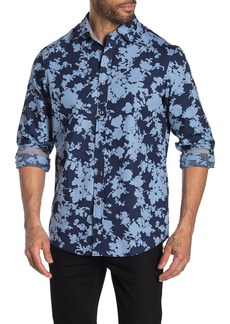 Michael Kors Classic Fit Flower Print Shirt