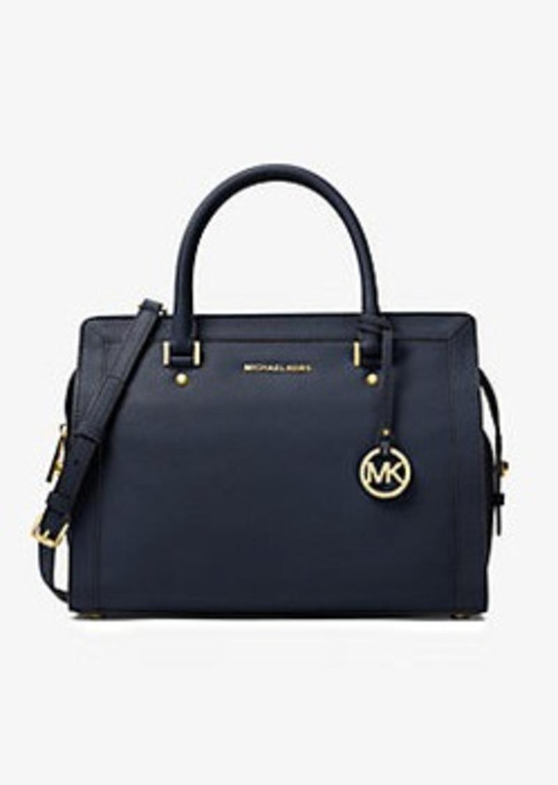 Michael Kors Collins Large Leather Satchel | Handbags - Shop It To Me