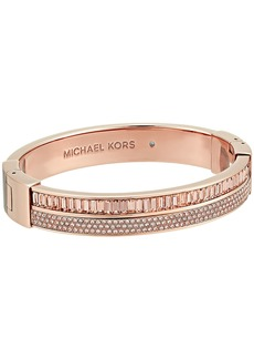 Michael Kors Color Crush Baguette Cut Crystal Hinge Bracelet