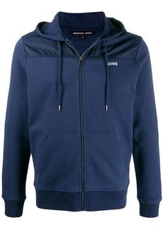 Michael Kors contrast panel hoodie