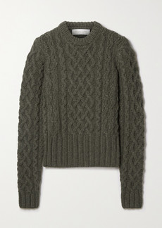 Michael Kors Corallina Cable-knit Cashmere Sweater