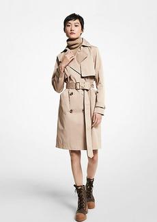 Michael Kors Cotton Blend Trench Coat
