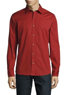 Michael Kors Cotton Long-Sleeve Shirt