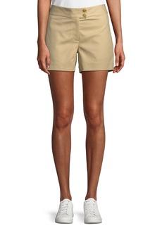 Michael Kors Cotton Snap-Waist Sailor Shorts