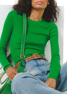 Michael Kors Crewneck Featherweight Cashmere Sweater