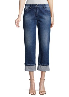 Michael Kors Cropped Cuff Jeans