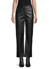 Michael Kors Cropped Leather Pants