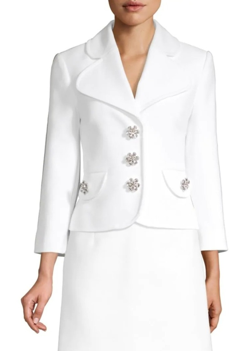 Michael Kors Cropped Peacoat Jacket