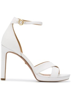 Michael Kors cross front sandals