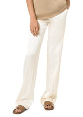 Michael Kors Crushed Silk Pajama Pants